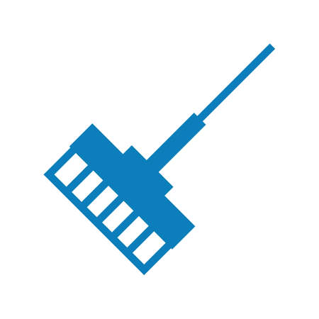 Wiper mop vector illustration Ilustrace