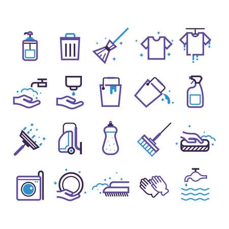 Set schoonmaakmiddelen