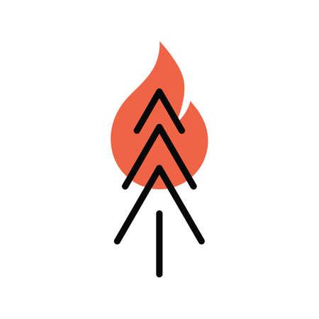wildfire Illustration