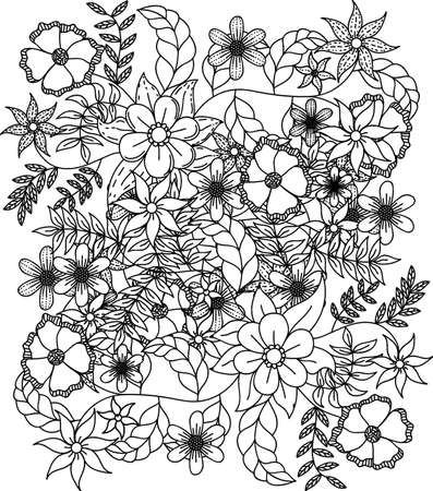 Intricate floral design