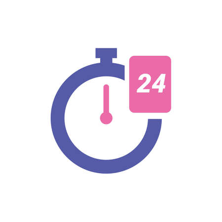 24 時間アイコン