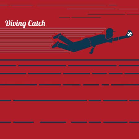 ダイビング キャッチ