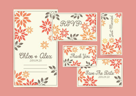 結婚式の招待カードのデザイン。 写真素材 - 77500732