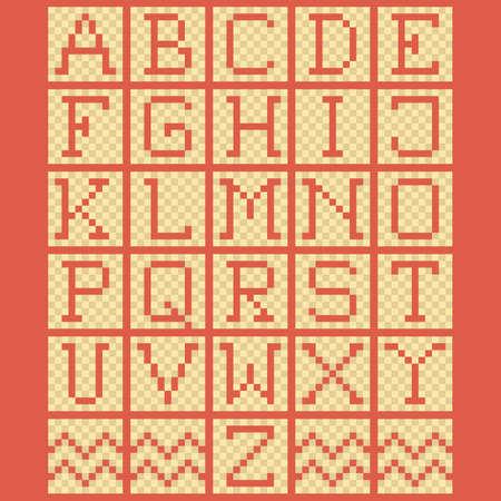 u  k: set of alphabet icons
