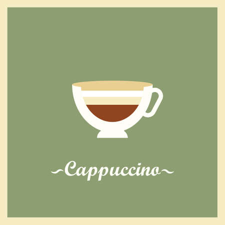 cappuccino Ilustrace