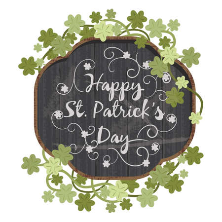 patrick: happy st patricks day design