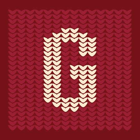 Alphabet g Ilustração