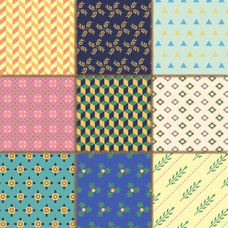 추상적 인 패턴 디자인