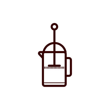 French press coffee 版權商用圖片 - 77168493