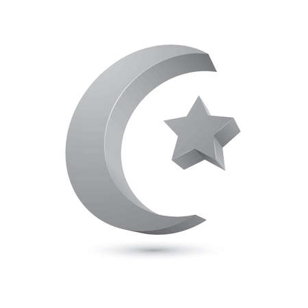 Symbol of islam Illustration