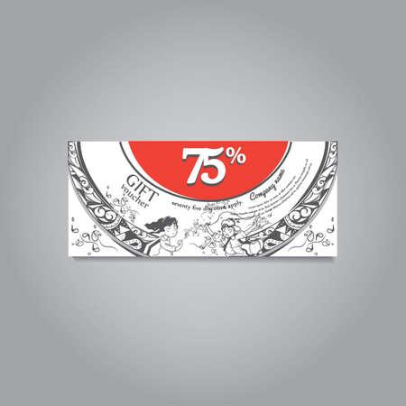 ギフト券のデザイン