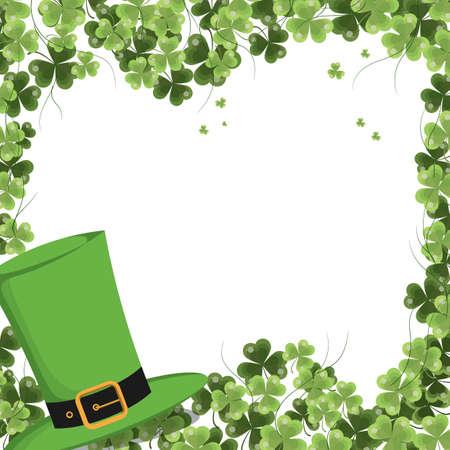 Bordered irish concept