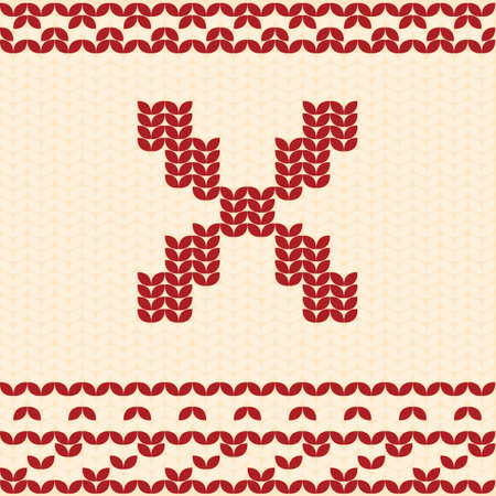 letter x Иллюстрация