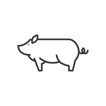 돼지 아이콘