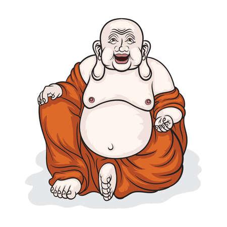 laughing buddha Reklamní fotografie - 77419680