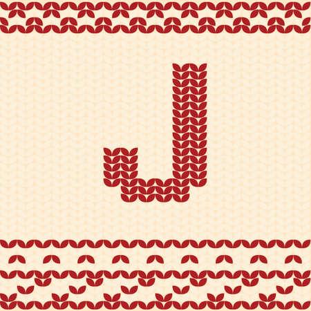 Letter j Иллюстрация