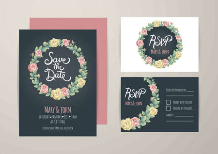 Wedding invitational card design