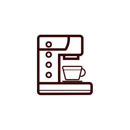 Coffee maker Ilustração