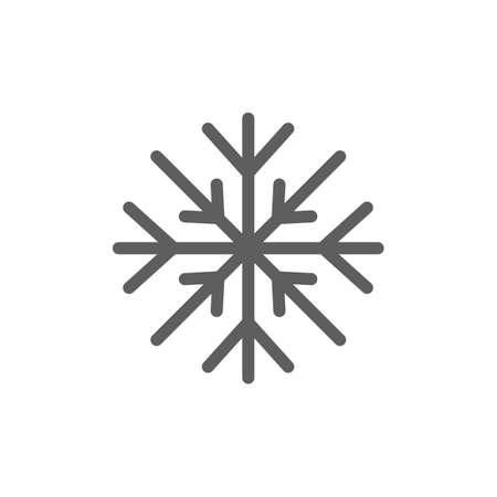základní: Sněhová vločka