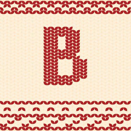 Letter b Иллюстрация