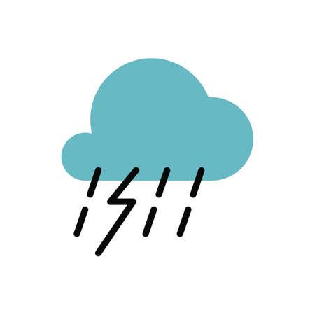 thunderstorm Reklamní fotografie - 77320161