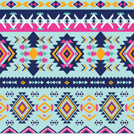 Aztec colorful background
