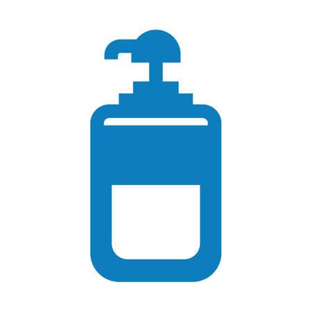 Dispensador de jabón líquido Foto de archivo - 77522938
