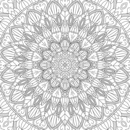 Abstract intricate design