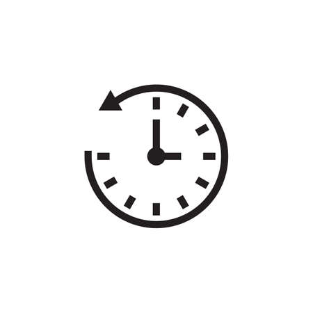 Antiwise clock icon