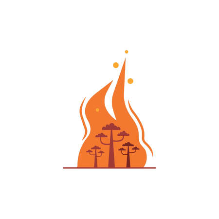 forest fire concept
