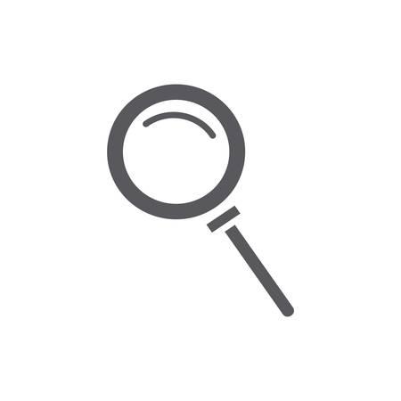 magnifying glass Illusztráció