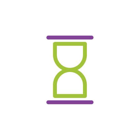 hourglass icon Stock Vector - 77320695