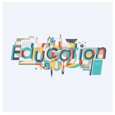 education lettering design