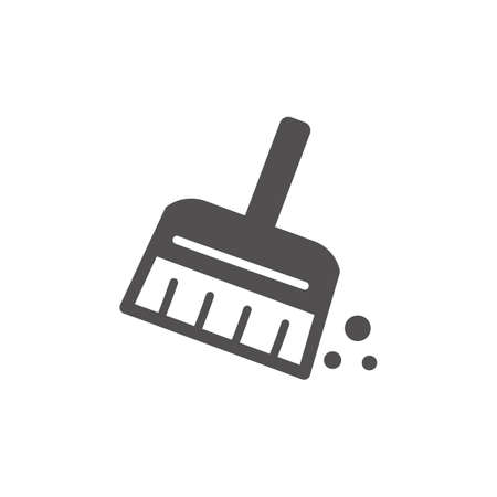 Hand brush icon
