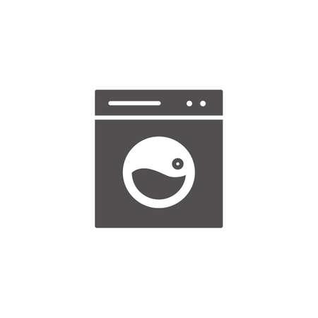 washing machine Ilustrace