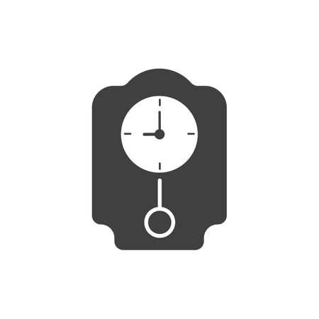 pendulum clock icon Reklamní fotografie - 77490187