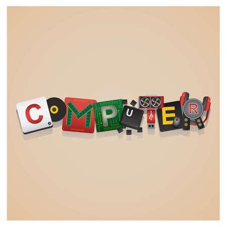 computer lettering design