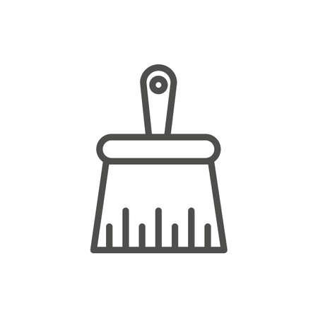 Hand sweeper Banco de Imagens - 77171540