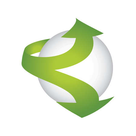 Globe logo element