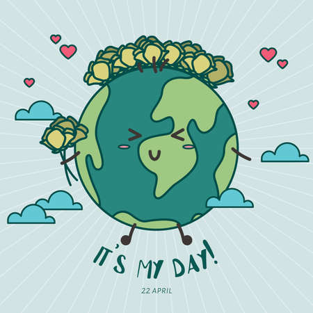 Earth day design Stock fotó - 77172100