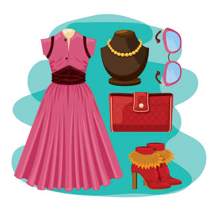 02d5c96eec3 92 Attire Necklace Stock Vector Illustration And Royalty Free Attire ...