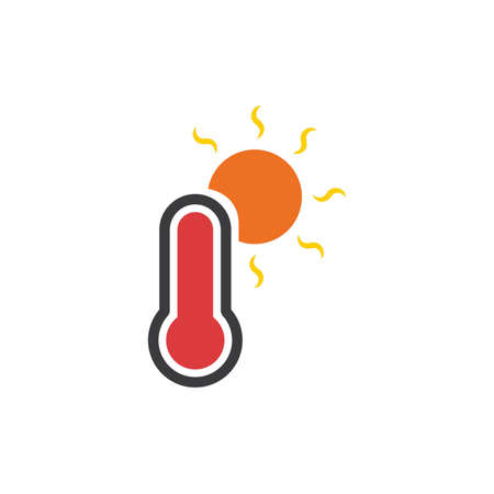 High temperature Illustration