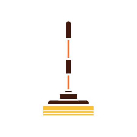 Wiper mop Stock Illustratie