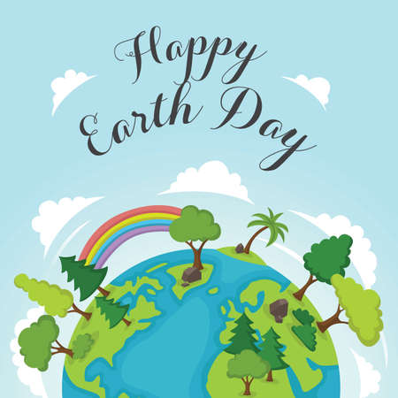 earth day design Stock fotó - 77504106