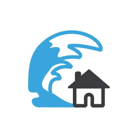 津波 写真素材 - 77324562