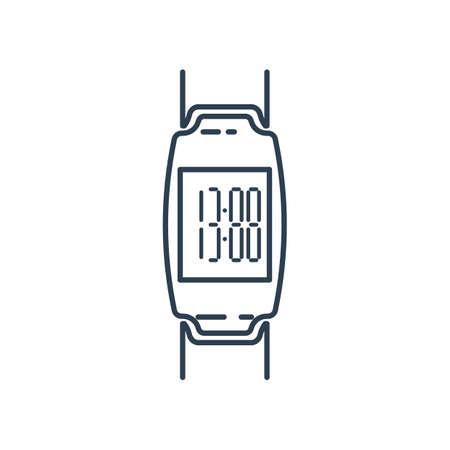 デジタル時計アイコン