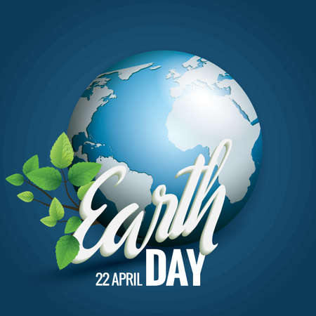 earth day design Stock fotó - 77420488