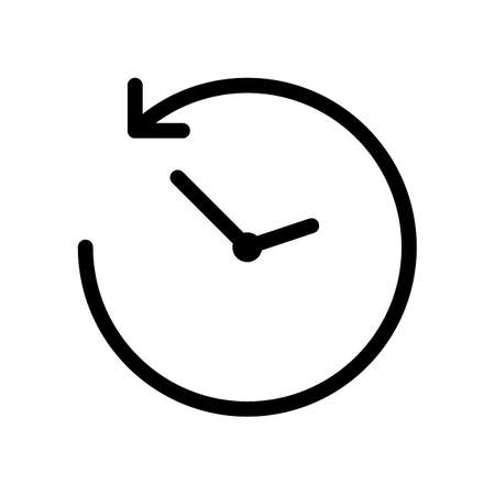 anticlockwise icon Stock Vector - 77503016