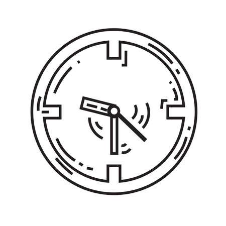 Clock icon Illustration