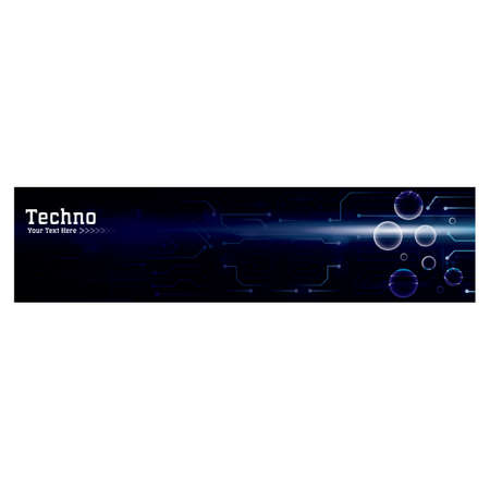 technological web banner